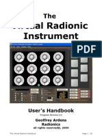 Virtual Radionic Instrument Handbook