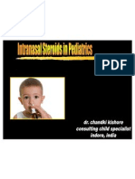 Intranasal Steroids in Pediatrics