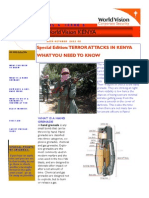 Security Bulletin - Surviving a grenade attack & First Aid Tips