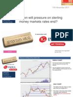 Pressure on Sterling's Short Rates End for Ig