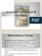 Blooms Bury Group & Fauvism