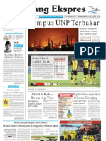 Koran Padang Ekspres   Jumat, 18 November 2011.