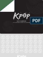 K-Pop Calendar (2012)