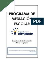 programa mediacion escolar