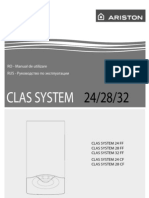 Manual de Utilizare CLAS SYSTEM