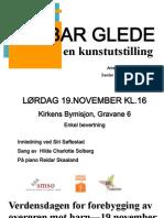 Verdensdagen mot overgrep mot barn 19. november