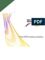FLexi BTS Battary System