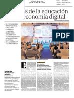 ABC Los retos de la educación en una economía digital