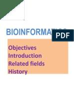 BIOINF LEC 1