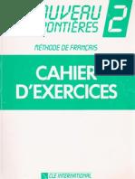 Le Nouveau Sans Frontieres 2. Cahier