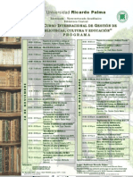 Gestion de bibliotecas Ricardo Palma