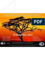 2011 Africom Holiday Party