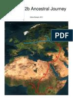 MtDNA T2b Ancestral Journey Eng