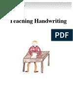 Handwriting in English Language