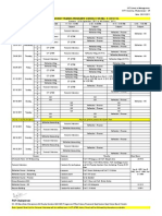 Special Placement Training Time Table