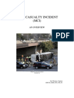 EMT Mass Casualty Incident an Overview Trauma