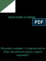 Desvende o Crime 1