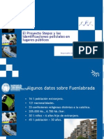 Fuenlabrada, document de la police