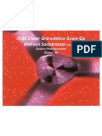 High Shear Granulation Scale Up