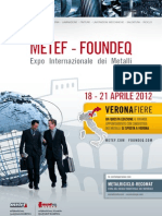 Metef-Foundeq 2012 Brochure (italiano)