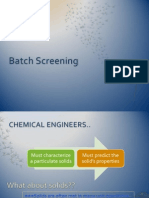 Batch Screening