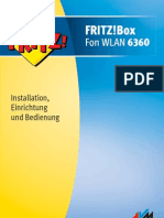 Handbuch AVM Fritz Box 6360 Cable