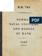 German Naval Uniforms and Badges of Rank WW2