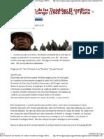 En el Corazón de las Tinieblas_ El conflicto olvidado del Congo (1960-2006), 1ª Parte