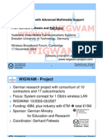 WIGWAM-Wireless Gigabit With Advanced Multimedia Support-Slides