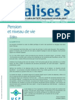 Pension Et Niveau de Vie