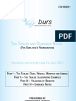 Burs July 2011 Tax Deductions Tables