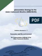 Guidance No 1 - Economics - WATECO (WG 2.6)
