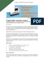 Silicon Chip Online - Compact 0-80A Automotive Ammeter