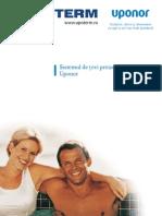 Sistem Uponor - Tevi Preizolate (Ecoflex) - UPOTERM