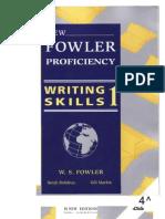 New Fowler Proficiency. Writing Skills 1