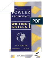 New Fowler Proficiency. Writing Skills 1