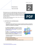 Modulo de Fisica i - Analisis Vectorial do