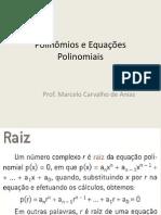 Polinômios e Equações Polinomiais