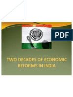 2 Decades of Economic Reforms