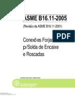 ASME B16 11 (2005) portugues