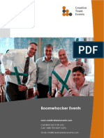 Boom Whacker Events Brochure