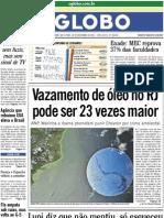 O Globo (2011-11-18)
