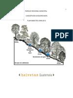 Plan Maestro Parque Regional Concepción Chiquirichapa