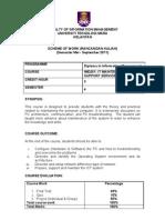 Imd251 Course Info