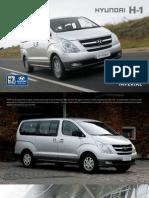 Hyundai h1 Panelvan Brochure