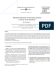 Internationalization of innovation systems A survey of the literature