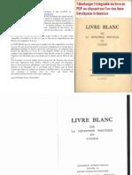 Livre Blanc Tunisie 1953