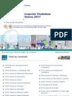 Result a Dos Encuesta Inder Medellin Como Vamos 2011