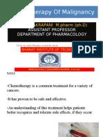 Chemotherapy of Malignancy