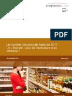 SymphonyIRI Le marché des produits halal nov 2011